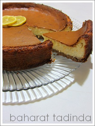 Limonlu Cheesecake (New York usulü)