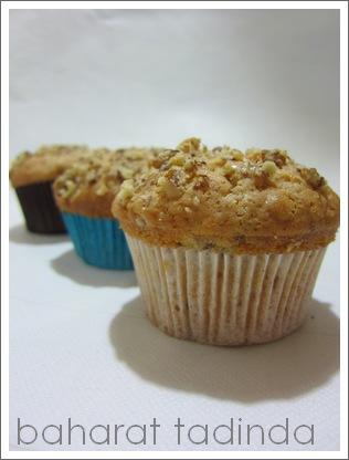 Meyveli Cevizli Muffin