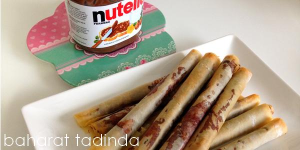 Nutella Ruloları